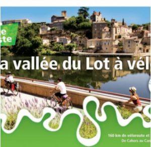 brochure la Vallée du Lot à Vélo